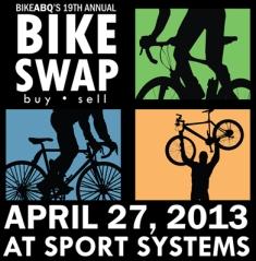 BikeABQ (Bikeswap 2011) flyer color 8x11.indd